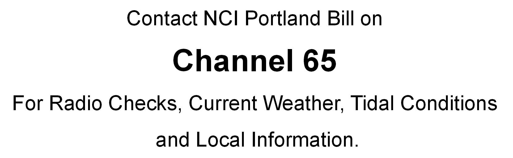 Information For Mariners Nci Portland Bill Qavs